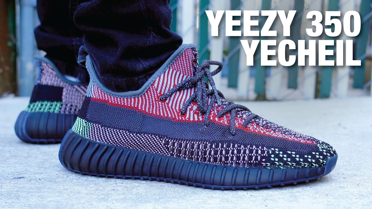Adidas Yeezy Boost 350 V2 Yecheil Review On Feet Youtube
