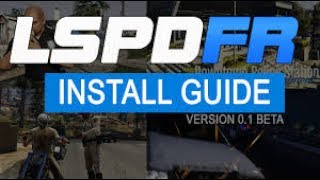 HOW TO INSTALL LSPDFR 2017! (Easy)