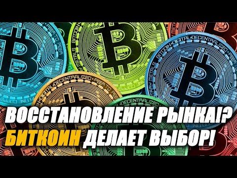 Биткоин/Bitcoin: Движение цены определено! Bitcoin выбрал курс!