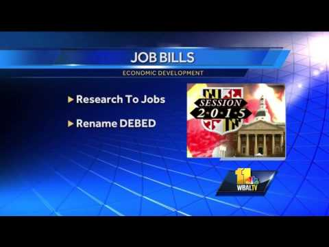 New laws signed to improve Maryland economy