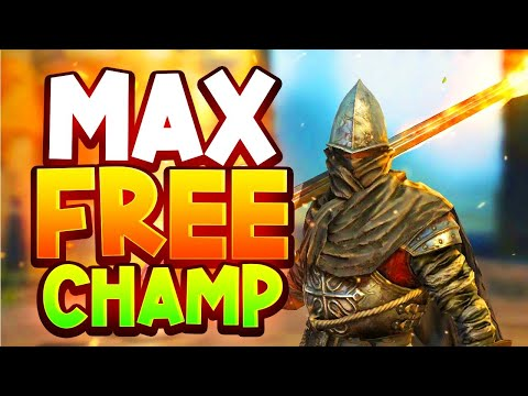 I MAXED The New FREE Champ in MY BEST GEAR! Lordly Legionary Guide & Build