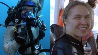 Ronda Rousey Swims With Ocean Predators...