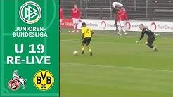 1. FC Köln - Borussia Dortmund 0:2 | Re-Live | A-Junioren-Bundesliga