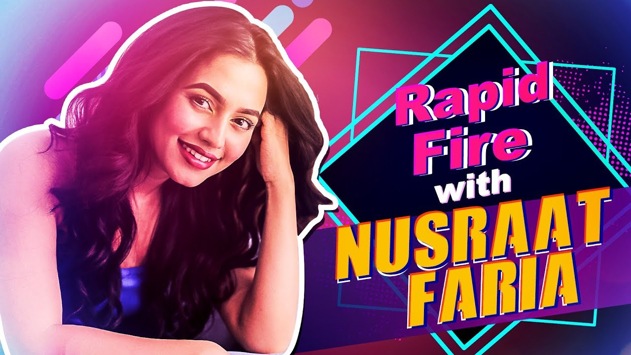 Rapid Fire With Nusrat Faria | Up Close & Personal | SVF