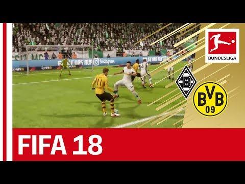 Mönchengladbach vs. Dortmund – FIFA 18 Prediction with EA Sports
