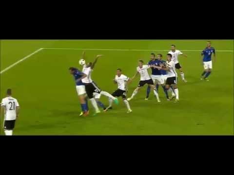 EM 2016 Deutschland gegen Italien - Highlights