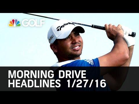 Morning Drive Headlines 1/27/16 | Golf Channel