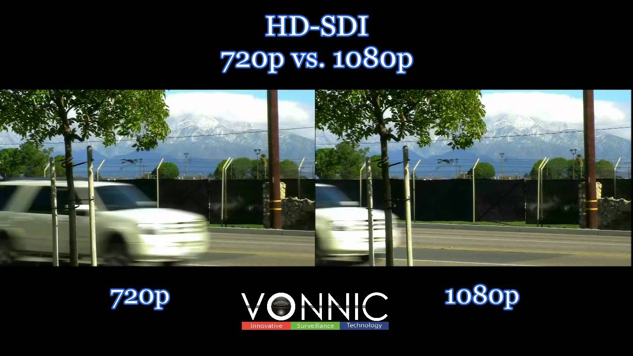 HD-SDI 720p vs. 1080p - YouTube