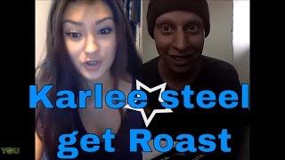 karlee steel got roasted by databasemusic1