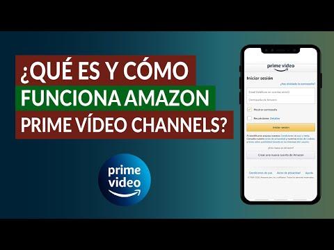 ¿Qué es y Cómo Funciona Amazon Prime Video Channels? Conoce la Plataforma de Canales de Amazon