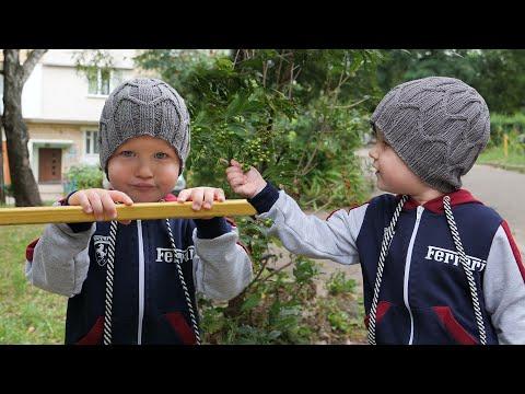 Связать спицами шапку для мальчика 3 года