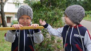 "Шапка «Магистраль» для мальчика спицами | Boy's hat ""Highway"" free knitting patterns"