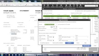 Reconciling Your Bank Statement in QuickBooks (Part 1 of 2)