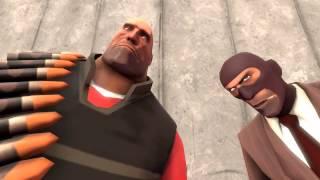 Тестовый ролик в SFM Heavy Slap Spy Ass.Порно мультик.