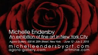 Artist Michelle Endersby 2015 New York Exhibition