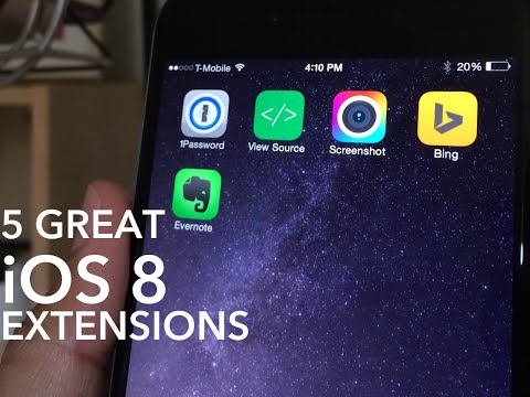 TIP: 5 Great iOS 8 Extensions