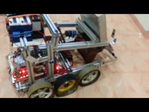 Robotics -Embedded System  1st International Competition Projects @ NASA