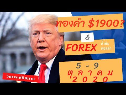 วิเคราะห์ ทองคำ forex น้ำมัน ดอลล่า EURUSD | อาทิตย์ที่ 5-9 ตุลาคม 2020
