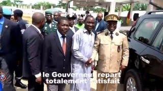 Petit pays Effatta reçoit le Gouverneur