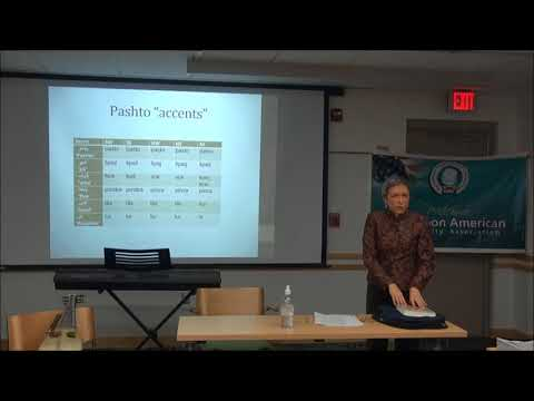 Interesting Aspects of Research in Pashto Language by Dr. Anne David