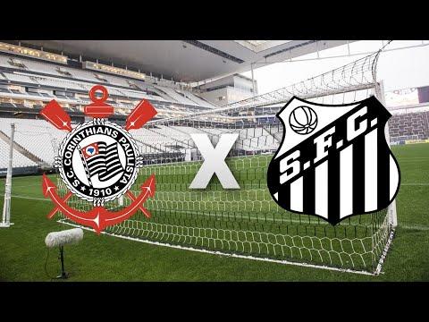 Corinthians x Santos AO VIVO | Rodada #4 | Paulistão 2020