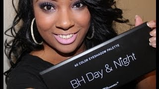 BH Cosmetics يوم و ليلة لوحة ماكياج البرنامج التعليمي