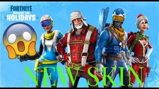 The Top 20 Skins that the Fortnite may belong to! (Christmas edition)