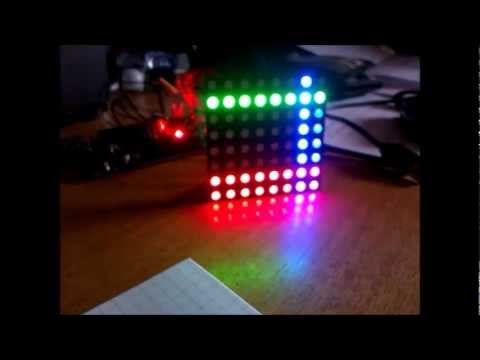 Rgb 8x8 led matrix Arduino