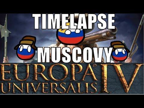 EU4 Russian Muscovy Timelapse |