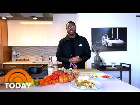 Top Chef's Kwame Onwuachi Shows Off His Homemade Peppa Sauce   TODAY