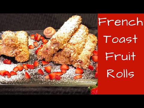 French Toast Fruit Rolls - Cute Apron Cooking No. 41