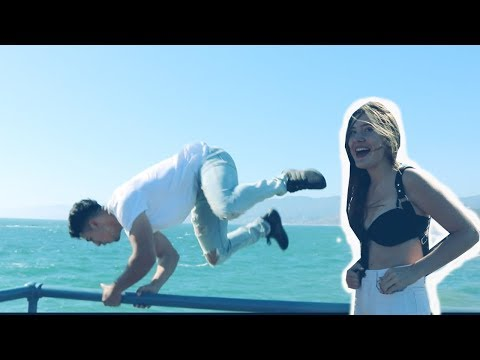JUMPING OFF SANTA MONICA PIER FOR HER NUMBER ($1K FINE?!) | STEEZYKANE