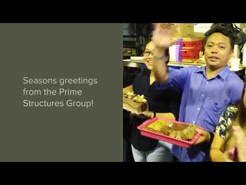Prime Structures Christmas Greetings 2017