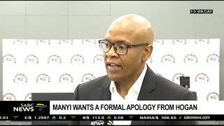 Manyi wants an apology from Barbara Hogan