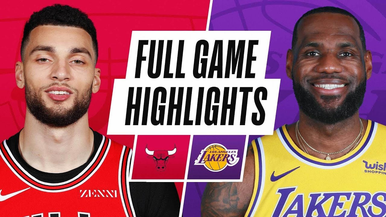Game Recap: Lakers 117, Bulls 115 - YouTube