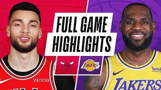 Game Recap: Lakers 117, Bulls 115