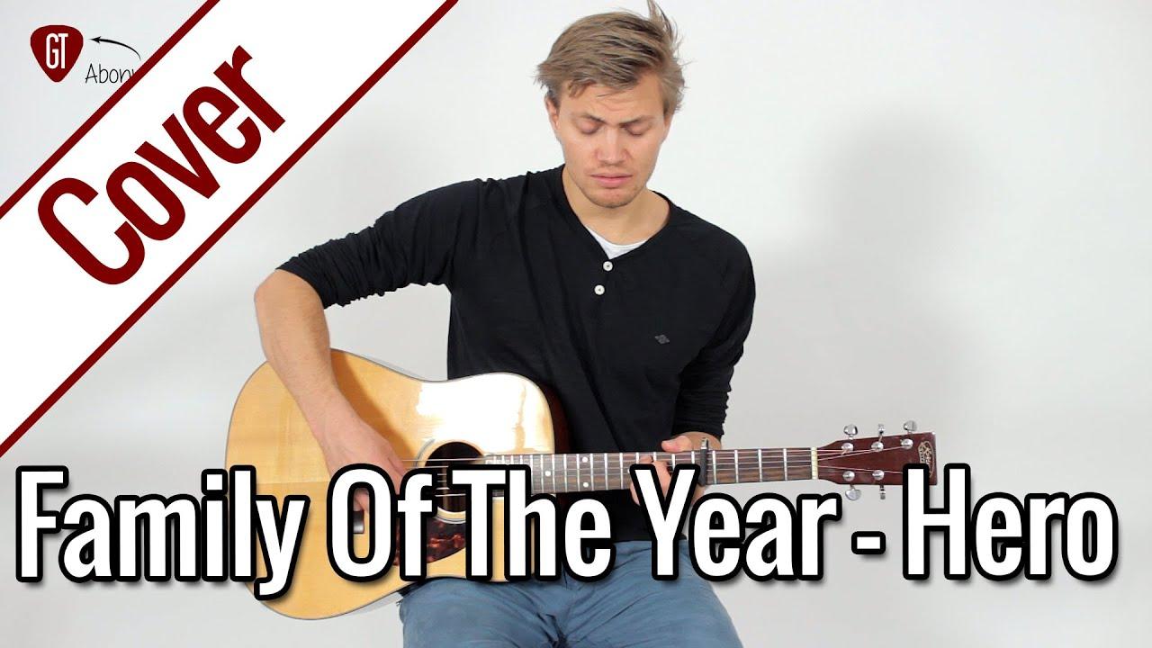 Family Of The Year   Hero   Gitarren Cover