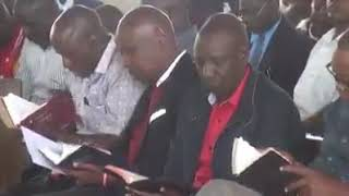 Ruto's great mastery of the bible