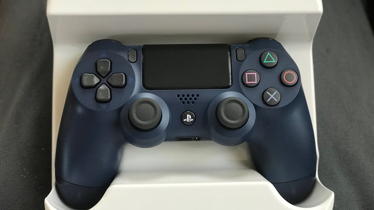 NEW PS4 CONTROLLER MIDNIGHT BLUE!!! UNBOXING AND GIVEAWAY ...