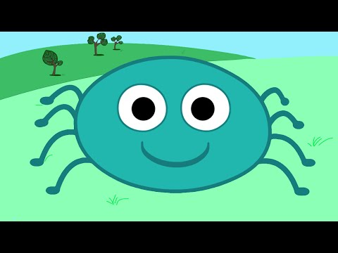 ITSY BITSY SPIDER - Song for Children