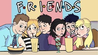 The Story of Friends in 3 Minutes! | ArcadeCloud