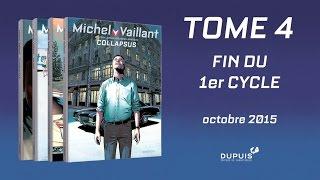 bande-annonce Michel Vaillant - Nouvelle saison - T.4 Collapsus