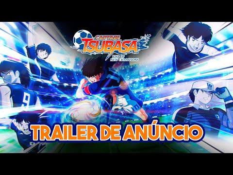 CAPTAIN TSUBASA (SUPER CAMPEÕES): RISE OF NEW CHAMPIONS - Trailer de Anúncio | PS4, Switch, PC