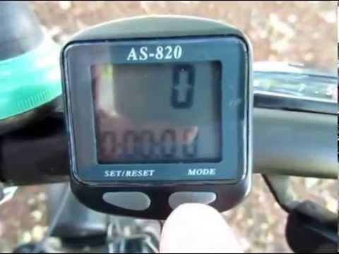 Велокомпьютер Ас 820 Инструкция - фото 3