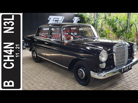 """Download In Depth Tour Mercedes Benz 190 """"Fintail"""" [W110] (1965) - Indonesia"""
