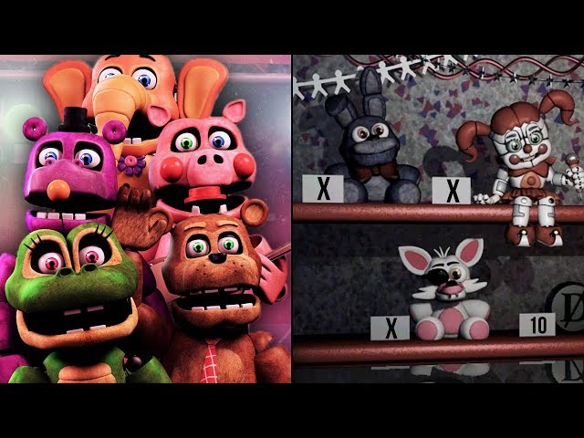COMO DERROTAR OS ANIMATRONICS DA TUBULAÇÃO NA ULTIMATE CUSTOM NIGHT 🤔 FNAF - HUEstation