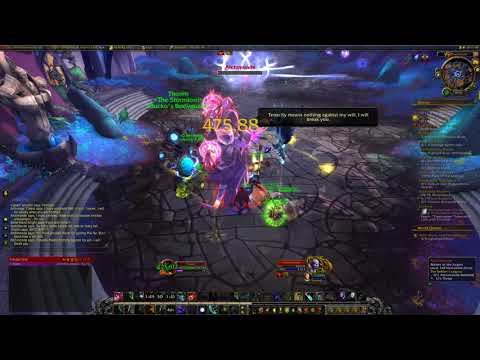 The Defiler's Legacy  Quest  WoW Legion 7.3  World of Warcraft