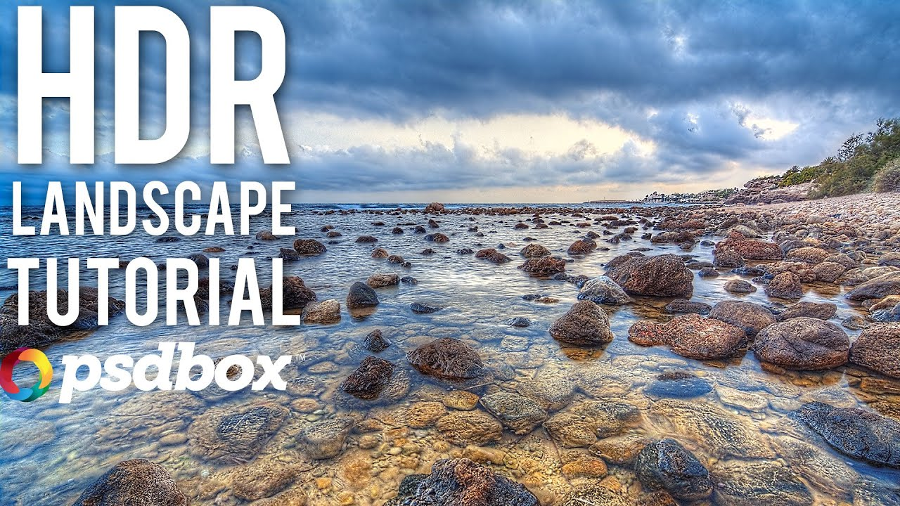 HDR Landscape RAW Photography Tutorial - 300+ free Photoshop Tutorials