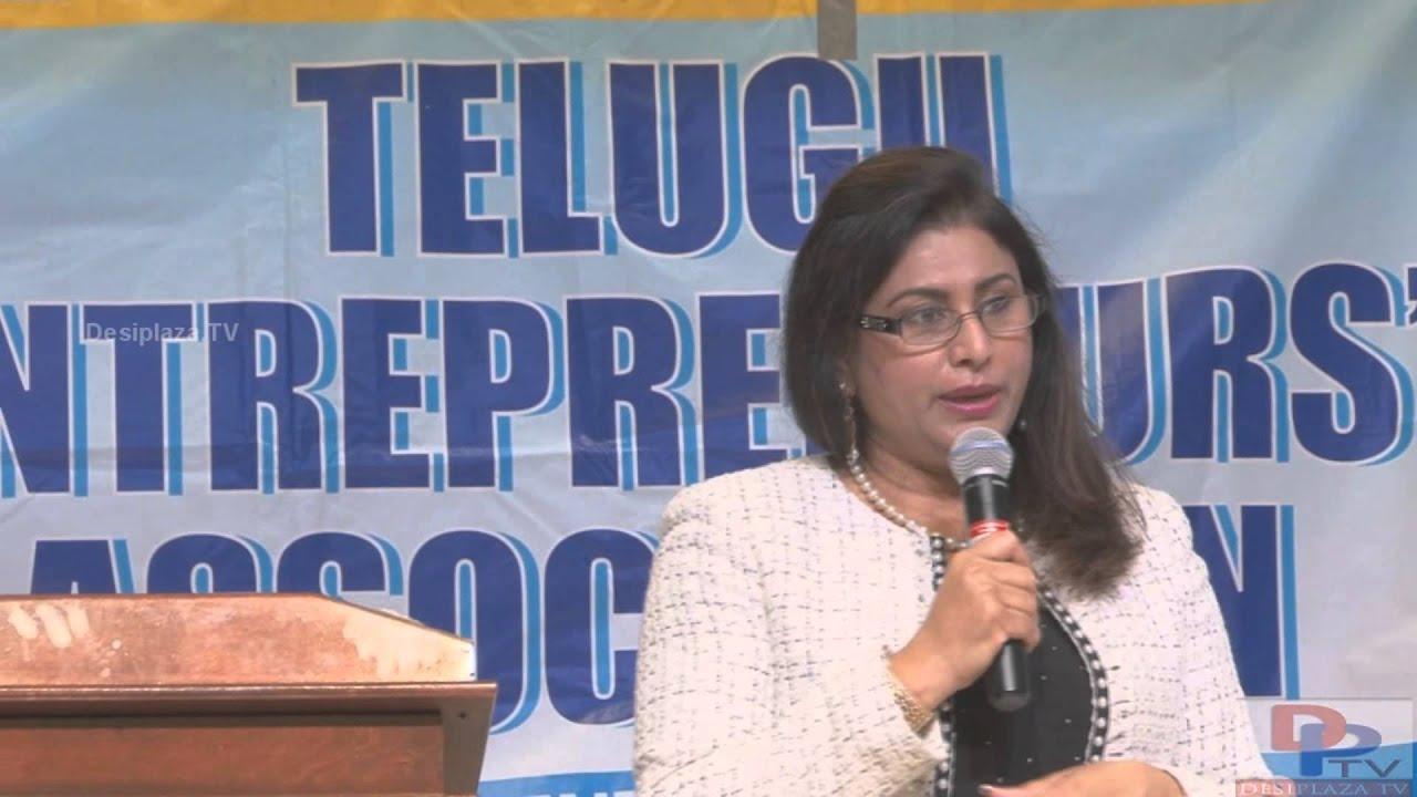 Indu Reddy Speaking at TEA Women Entrepreneurs Seminar