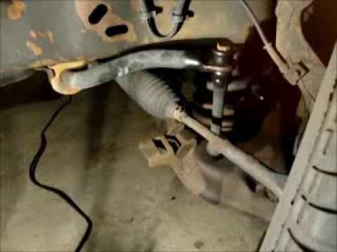 Sway Bar Link Replacement 2005 Ford Ranger